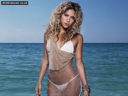 Shakira Wallpaper Body