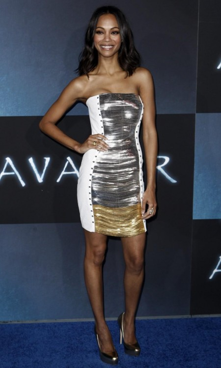 Zoe Saldana Avatar Premiere In Hollywood Avatar