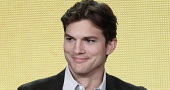 Ashton Kutcher has hair cut and shave for Two and a Half Men