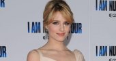 Dianna Agron in Thanksgiving Plane scare