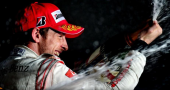 Jenson Button enjoys Ferrari link