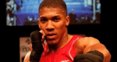 London 2012 Olympics – Britain's big boxing hope Anthony Joshua