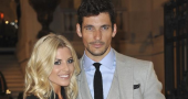 The Saturdays Mollie King dotes on beautiful boyfriend David Gandy