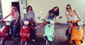 Vanessa Hudgens, Selena Gomez and Ashley Benson form tight Spring Breakers bond
