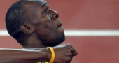 Usain Bolt returns to action today