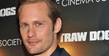 Alexander Skarsgard flirting it up in New York while promoting 'The East'