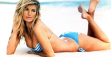 Marisa Miller is excited about her film debut in R.I.P.D.