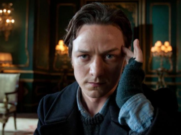 James McAvoy loves seeing actors sweat blood