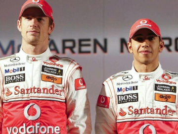 Lewis Hamilton, Jenson Button and Michael Schumacher discuss Australian Grand Prix