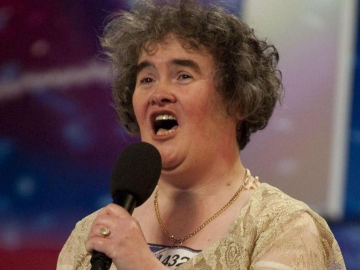 Susan Boyle found I Dreamed A Dream musical upsetting