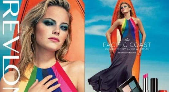 Emma Stone's gorgeous new Spring 2013 Revlon ad in stores | News ...