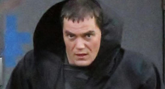 Michael Shannon as Zod on Man of Steel set