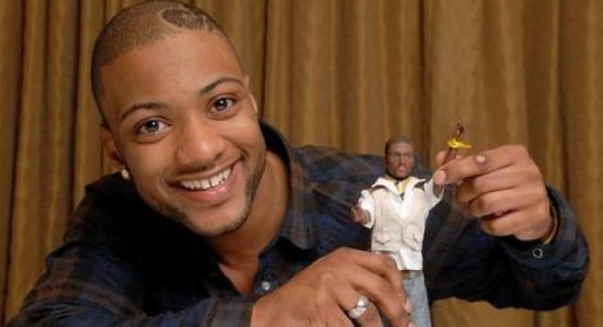 JB with his JLS doll