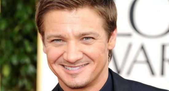 Jeremy Renner at the Golden Globes