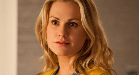 Anna Paquin as Sookie in True Blood