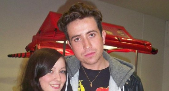 Radio One DJ Nick Grimshaw