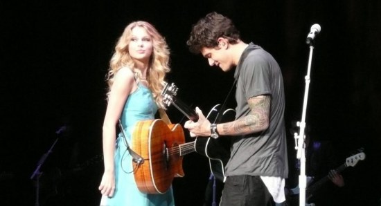 John Mayer and Taylor Swift have previously dated