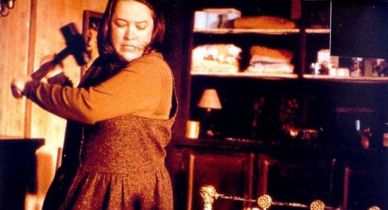 Kathy Bates in Rob Reiner movie Misery
