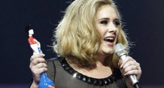 Adele doesn't care about losing weight