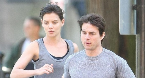 Why did Katie Holmes agreed to marry Tom Cruise?