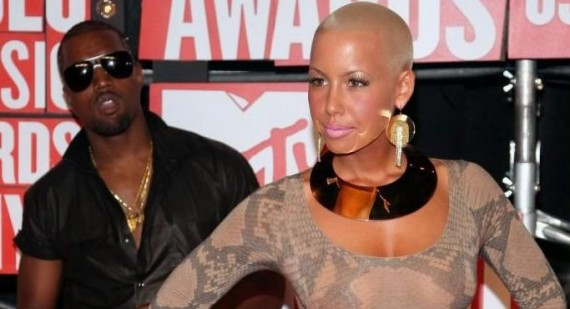 Amber Rose accuses Kim Kardashian and Kanye West of affair
