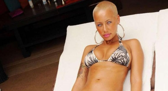 How did Kayne West pull someone as beautiful as Amber Rose?