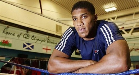 Anthony Joshua makes the Semi Finals at AIBA Boxing World Championships in Baku