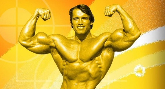 How did Arnold Schwarzenegger have such a flat stomach?