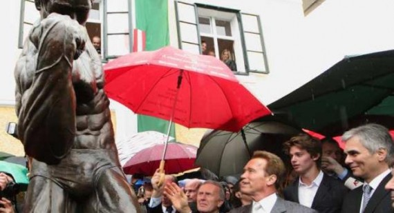 Arnold Schwarzenegger reveals key to success