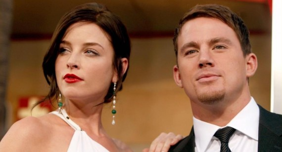 Channing Tatum Up For Part In Fifty Shades Of Grey... If His Wife Can Co-Star!
