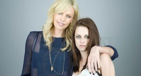 Charlize Theron and Kristen Stewart are new best friends