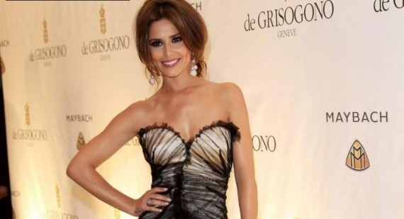 Cheryl Cole Celebrates Birthday In Las Vegas