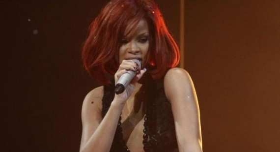 How did Rihanna start her career and and when?