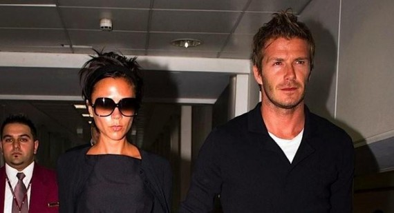 David Beckham and Victoria Beckham talk Harper Seven Beckham