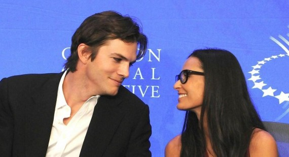 Demi Moore & Ashton Kutcher Divorce On Hold