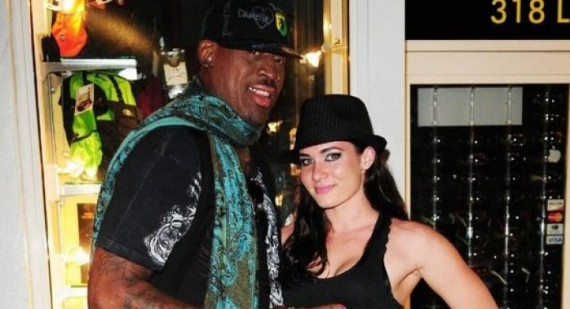 Dennis Rodman made Carmen Electra cry in bed