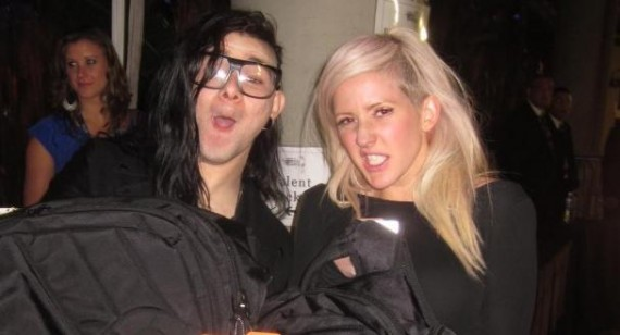 Ellie Goulding and Skrillex split up?