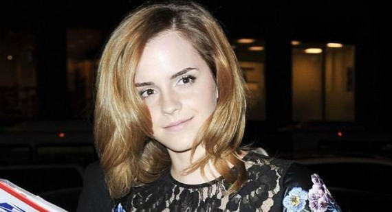 Emma Watson loved up with boyfriend Will Adamowicz