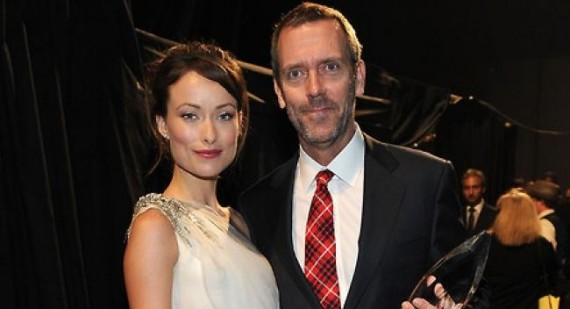 Hugh Laurie will miss Olivia Wilde