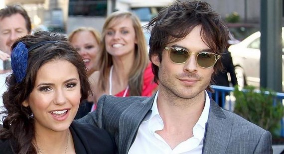 Ian Somerhalder and Nina Dobrev Discuss Fifty Shades Of Grey Role And Fashion