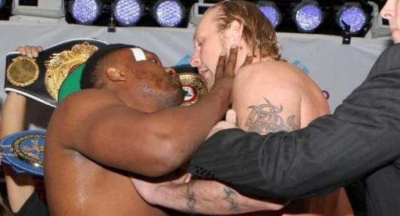Is Dereck Chisora gay?