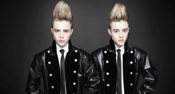 Jedward attempting to become the new Ed Sheeran