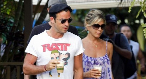 Jennifer Aniston & Justin Theroux Are NOT Engaged