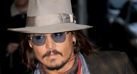 What is Johnny Depp's Natural Hair Color?