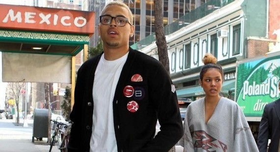 Karrueche tweets pic of Chris Brown and her sharing a kiss - what will Rihanna say?