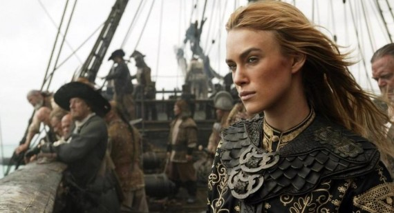 Keira Knightley struggled with Pirates of the Caribbean fame