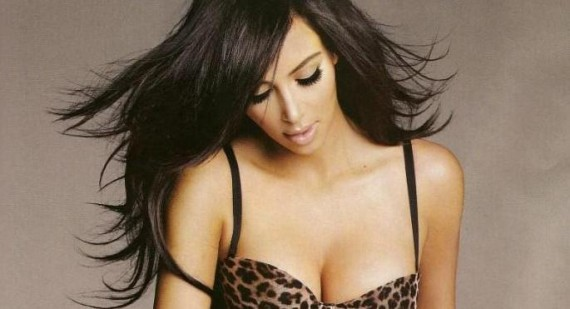 Kim Kardashian topless for new Kardashian Kollection Intimates range