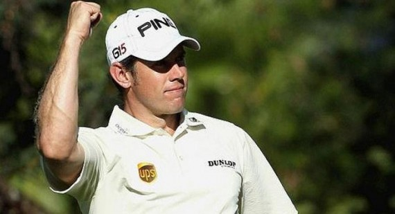 Lee Westwood leads The Masters 2012