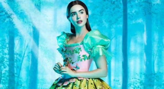 Who is Lily Collins and why is she always featured in TeenVogue?