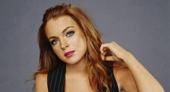 How did Lindsay Lohan mess up her routine?